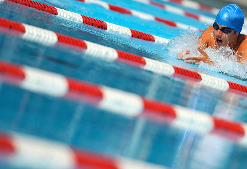 Isb panther swim team coaching team University of regina swimming pool